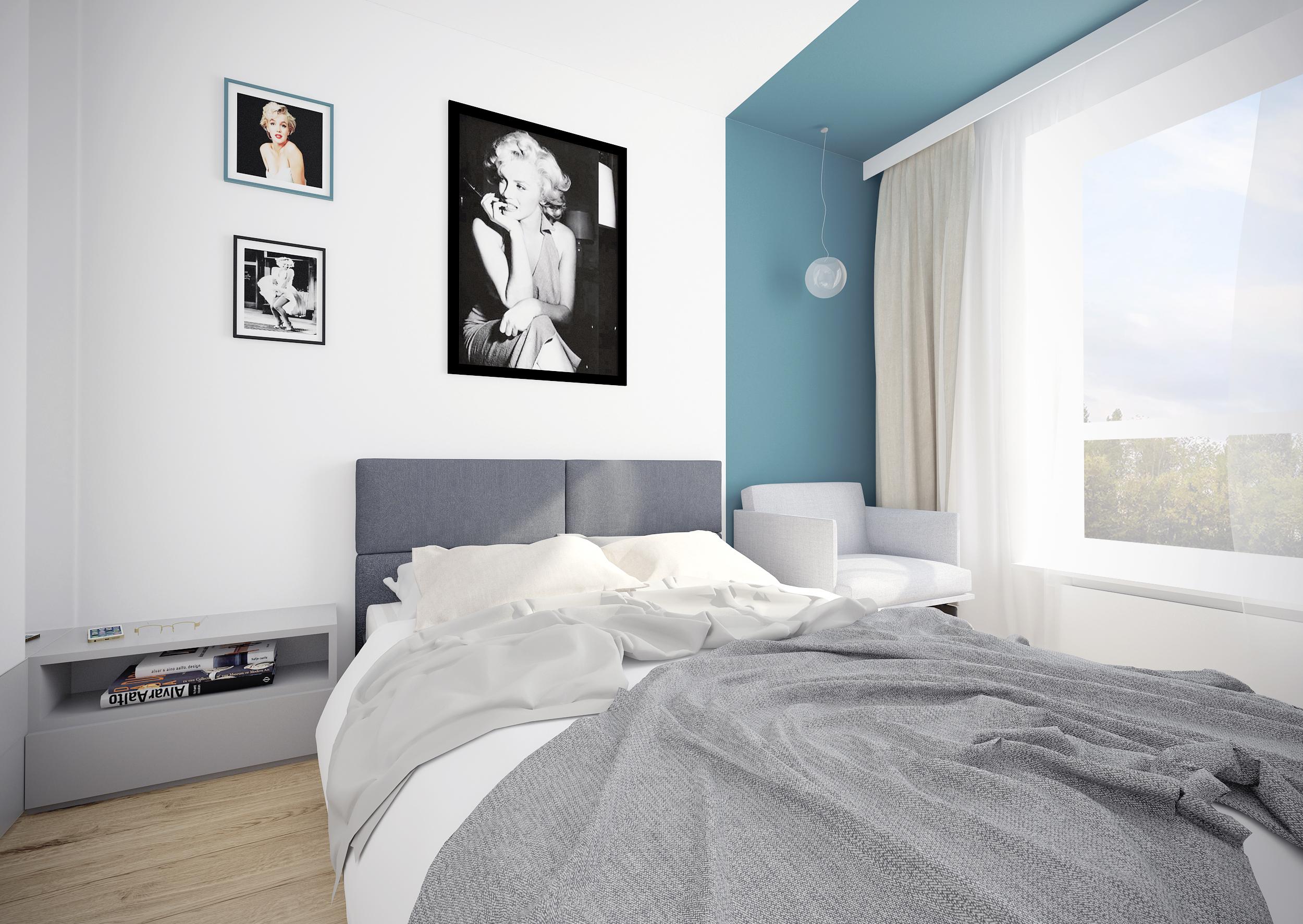 sypialnia 1 widok 1