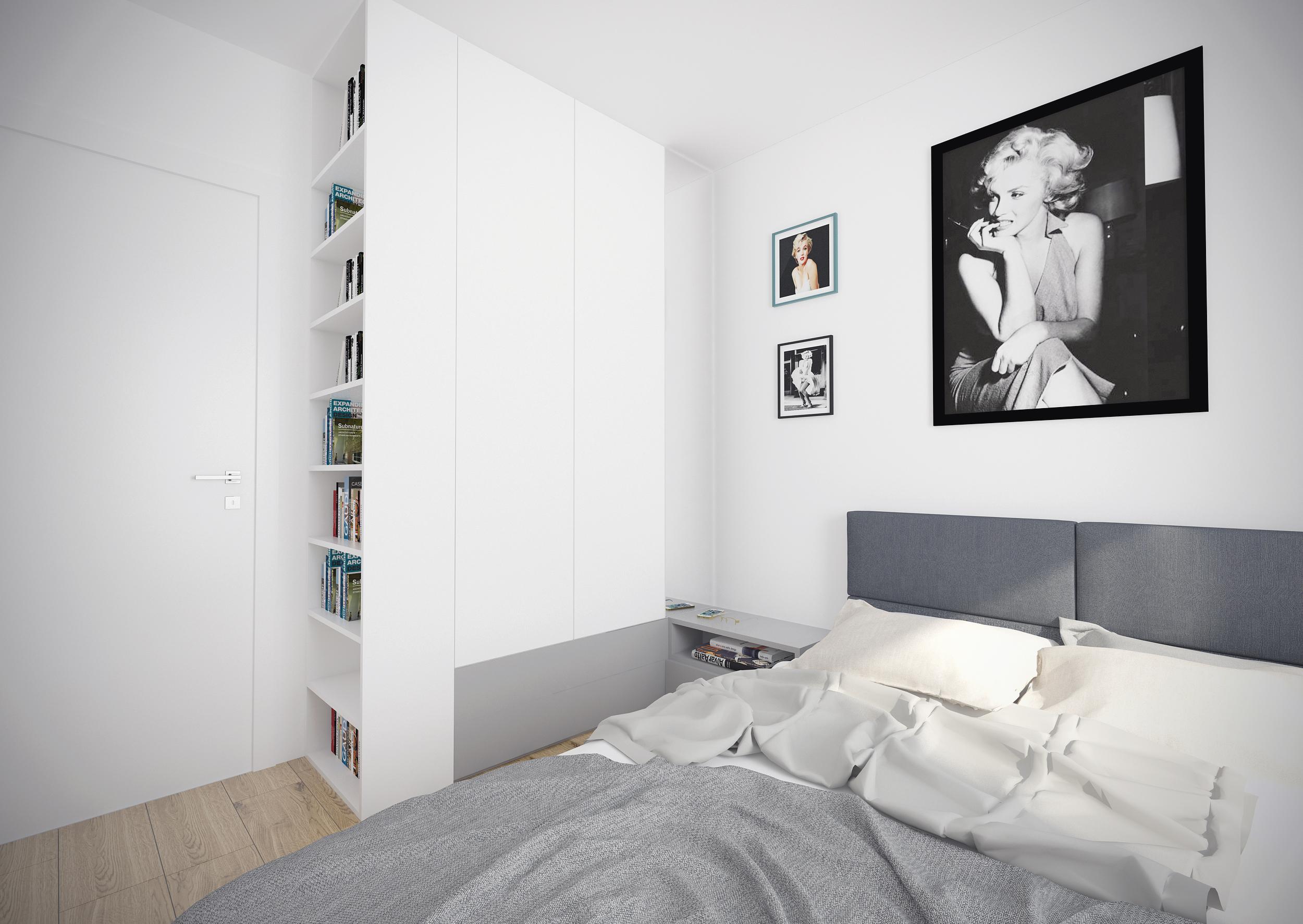 sypialnia 1 widok 2